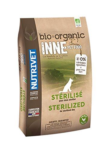 Nutrivet INNE PET FOOD Aliment Complet Bio pour Chien Stérilisé 3 kg