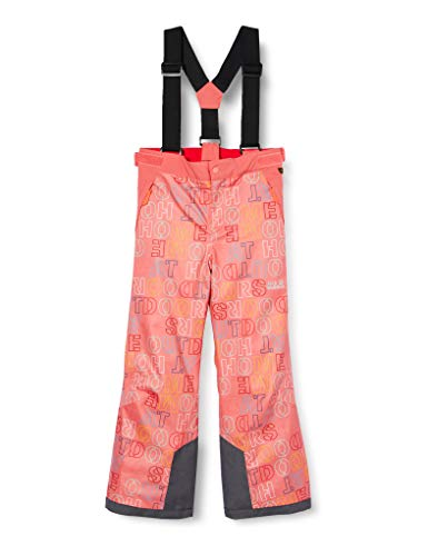 Jack Wolfskin Kinder Snow Printed Pants Hosen, rosa, 128