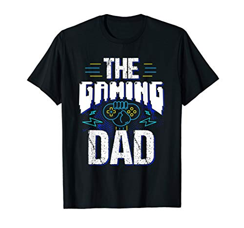 Herren Gamer Zocker Games Pc - Best Gaming Dad Ever T-Shirt