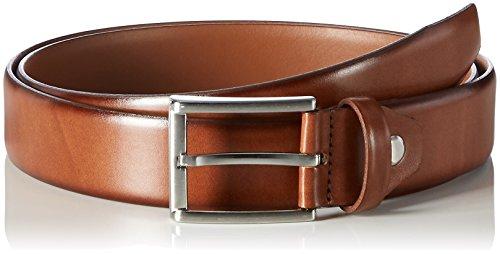 MLT Belts & Accessoires Herren Business-Gürtel London, Braun (light brown 6700), 105 cm
