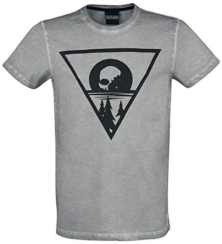 Days Gone Morior Invictus T-Shirt grau M