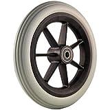 Aaram Wheelchair Front Tyre/Castor (200x25) -Set of 2 Pieces