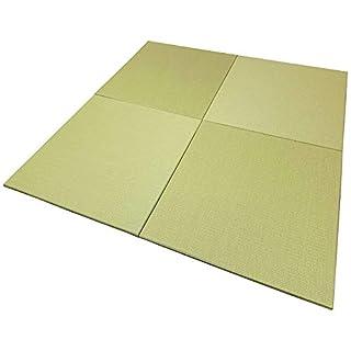 置き畳 正方形 ダイケン 和紙 若草色 【88cm 半畳1枚】【青畳工房製作】 紙畳 琉球畳 ユニット畳 国産