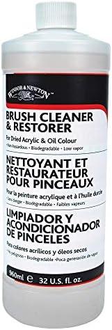 Winsor & Newton Brush Cleaner & Restorer - 32 oz. bottle (Packaging may vary)