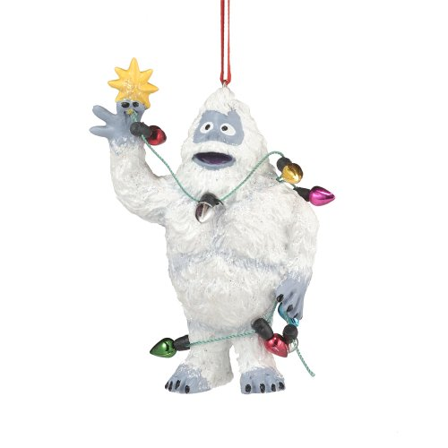 Department 56 Rudolph the Red-Nosed Reindeer Bumble in Lights Hanging Ornament, 3.5 inch