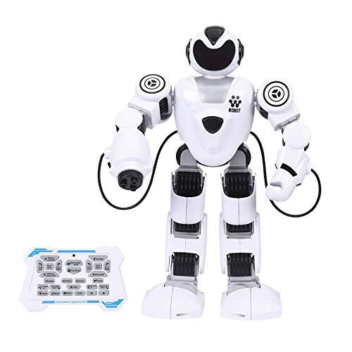Intelligentes ferngesteuertes Robotermodell Frühpädagogisches Programmieren interaktiver Tanzender Kinderspielzeuge Roboter Spielzeug Kinderroboter Sprachaktiviertes Roboterspielzeug für Kinder