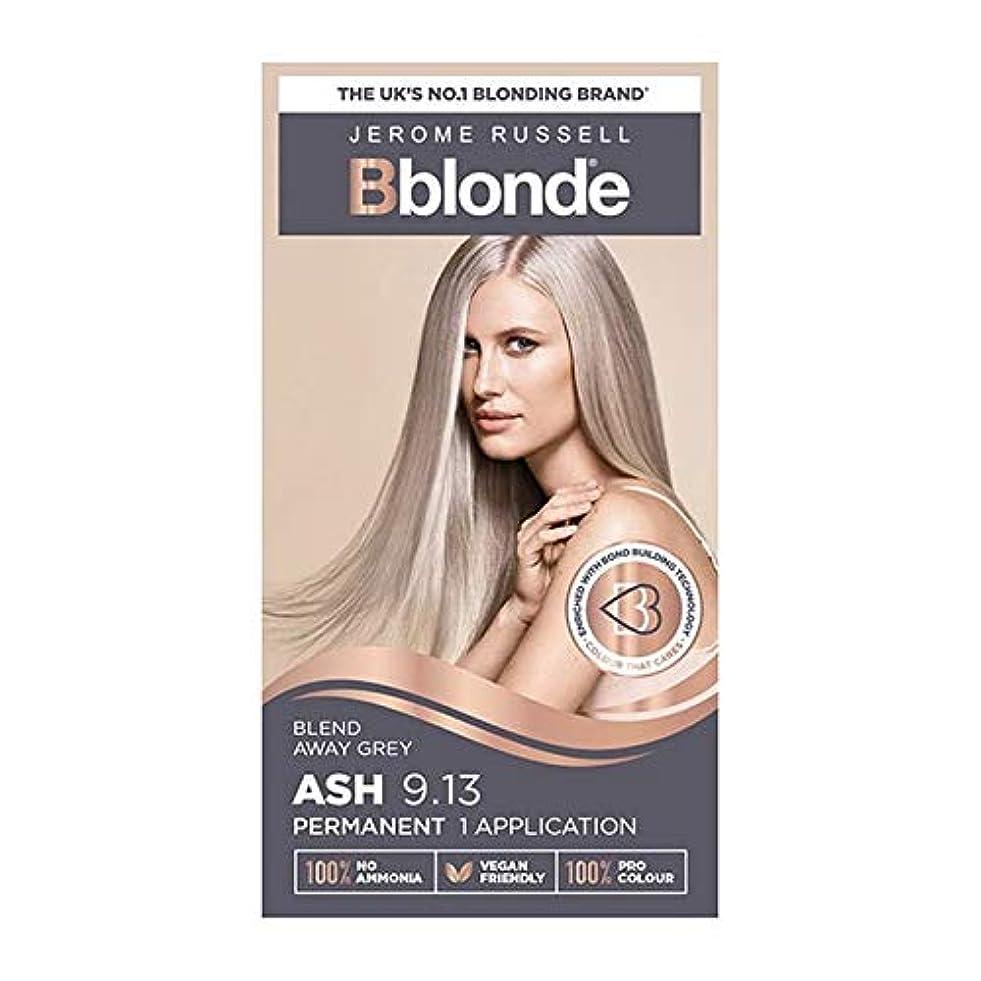 登録特派員アパート[Jerome Russell ] ジェロームラッセルBblondeパーマネントヘアキット灰ブロンド9.13 - Jerome Russell Bblonde Permanent Hair Kit Ash Blonde 9.13 [並行輸入品]