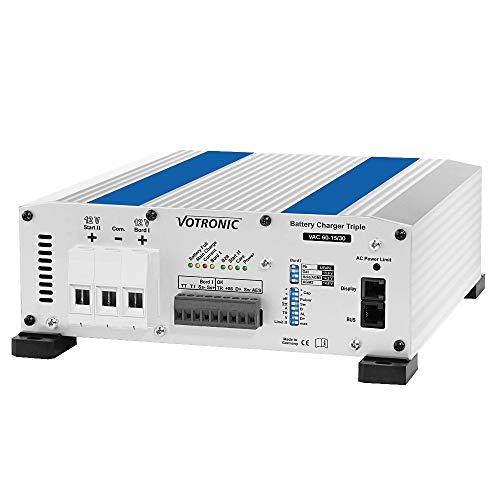 VOTRONIC 0665 Battery Charger VAC 60-15/30 Triple Batterieladegerät Kombi Ladewandler