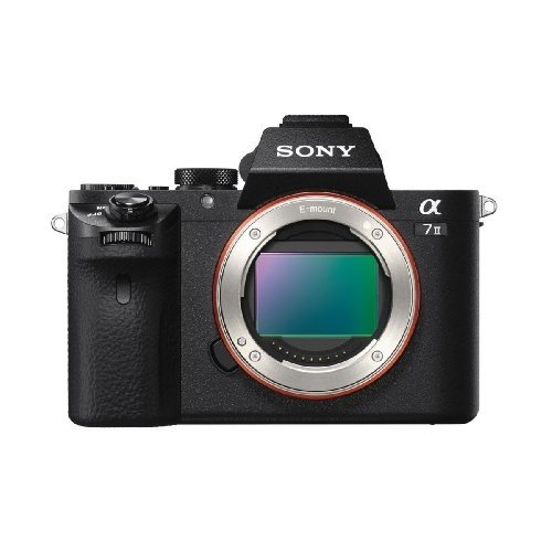 Sony Alpha a7 II Full Frame Mirrorless Digital Camera Body Only - ILCE-7M2/B (Renewed)
