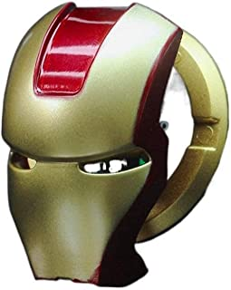 MBVBN Car Push Start Button Cover, Iron Man Start Button Protective Cover, Universal Aluminum Alloy Anti-Scratch Car Start...
