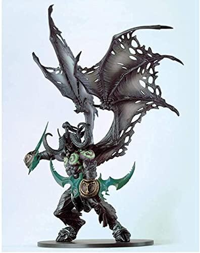 Modelo Artesanal Hecho a ma World of Warcraft Demon Hunter Modelo de compnte de Juguete de Anime (Color: Verde)