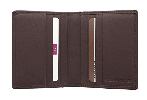 Mala Leather Collection Cara Porte-Carte de Voyage 620TC/_73 Gris