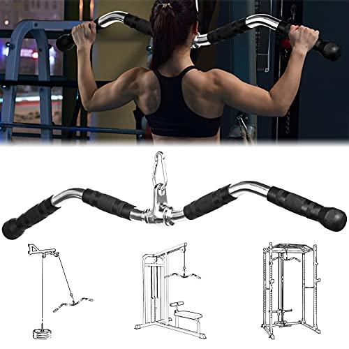 Fitness Barra Pull de Polea in Acero para Bíceps y Tríceps, 76...