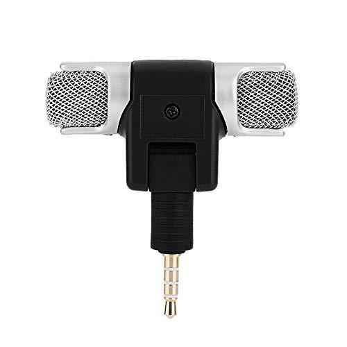 YOUTHLIKEWATER Microfoon Draadloze Mini Telefoon Studio Microfoon Gitaar Geluid Preamp Links En Rechts Kanaal Stereo Opname Voor IOS Android, Zwart