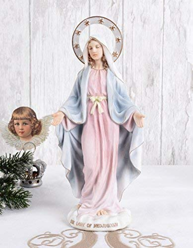 Madonna Figur Shabby Chic Maria Mutter Gottes Skulptur sakral Palazzo Exklusiv
