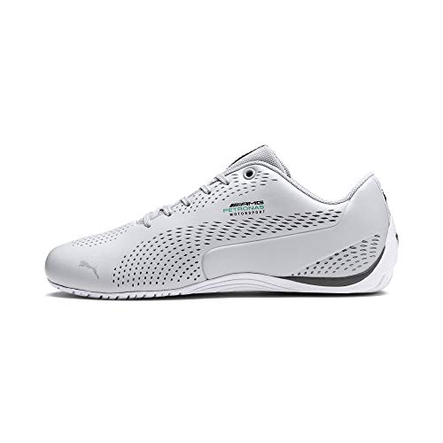 PUMA Mercedes AMG Petronas Drift Cat 5 Ultra II Sneaker Mercedes Tm Slvr-Smkd Pearl UK 7.5_Adults_FR 41