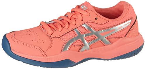 ASICS Gel-Game 7 GS, Zapatos de Tenis Unisex niños, Rosso Papaya Silver...