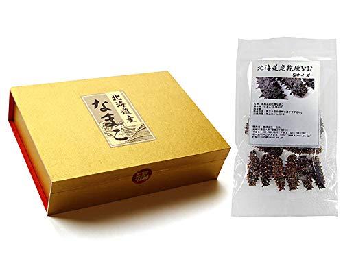 乾燥ナマコ特A級品Sサイズ50g(化粧箱入り)1本4g前後(特Aランク)北海道産乾燥なまこ 金ん子(中華高級食材)干し海鼠!北海キンコ 海参!