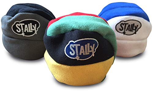 Stally Hacky Sack Footbag 3-Pack, Assorted Colors