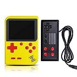 Yoging - Mini consola de juegos portátil retro con pantalla LCD de 8 bits de 2,8 pulgadas integrada para 400 juegos, videoconsola para niños en la televisión