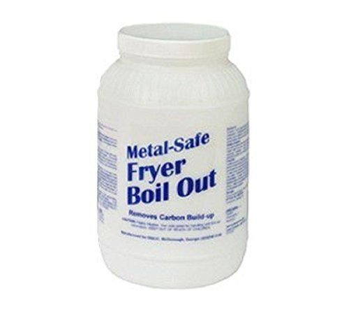 Metal-Safe Fryer Boil Out, Disco MSFB08, 2 each 8# tubs per box, 16# total