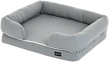Amazon Basics Lit pour animal domestique en forme de canapé, S