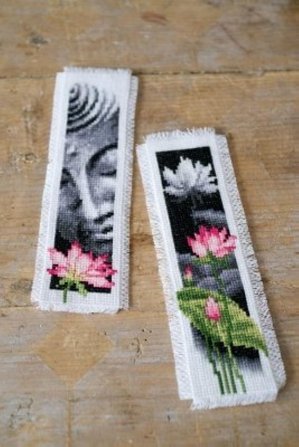 Lotus & Buddha Bookmarks