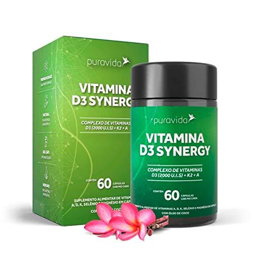 VITAMINA D3 SINERGY (Vitaminas D3 2000ui+k2+A)