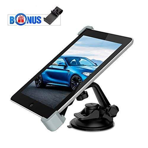 MEMTEQ Car Mount Tablet Holder, Car Universal Tablet Mount with...