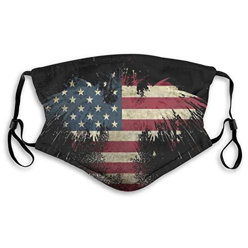 Relleno de tela para cualquier persona, arte americano, boca fría a prueba de polvo doble protección