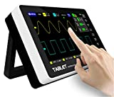 Tablet Oscilloscope,Digital Touch Screen Storage Oscilloscope Kit,with 2 Channel 100Mhz Bandwidth 7 inch Screen,Multi Functional Ultra Thin Portable USB Oscilloscope