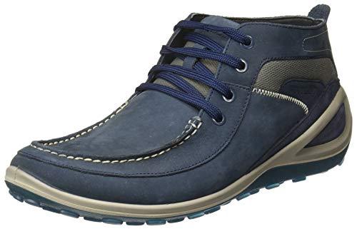 Woodland Men Gb 2106116_Droyal Blue_11 Boots-11 UK (45 EU) (Leather)