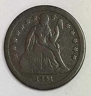 1841 P Liberty Seated Dime Fine