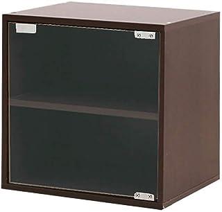 Nai-storage Gabinete de apilamiento de Discos de Vinilo LP, Estantería de Cubo de Madera, Estantes de exhibición de pie Ar...