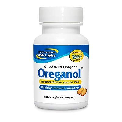 North American Herb and Spice, Oreganol P73 Gel-Capsules, 60-Count from North American Herb and Spice