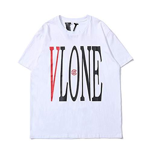 Camisetas Para Hombre Casual Manga Corta Cuello S M L Xlwhitem