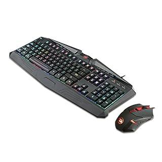سعر الألعاب ماوس لوحة المفاتيح كومبو S101 ريدراغون