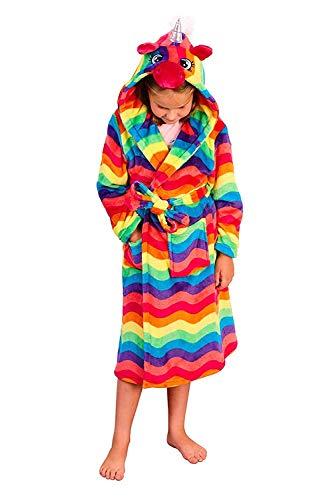 Trueboy - Batas enterizas para adultos y niños Kids - Túnica arcoíris M