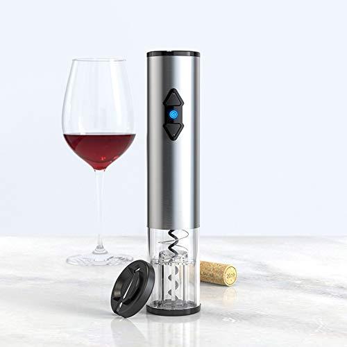Yiyer Abridor de Vino Eléctrico con Cortador de Papel de Aluminio Sacacorchos...