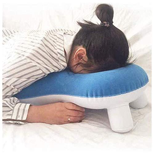 QMZDXH Almohadas de apoyo para el hombro para la cabeza, almohada para dormir para la cara de los pacientes del desprendimiento de retina durante la recuperación para el sueño para uso poscirugía
