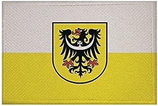 U24 Aufnäher Niederschlesien Fahne Flagge Aufbügler Patch 9 x 6 cm