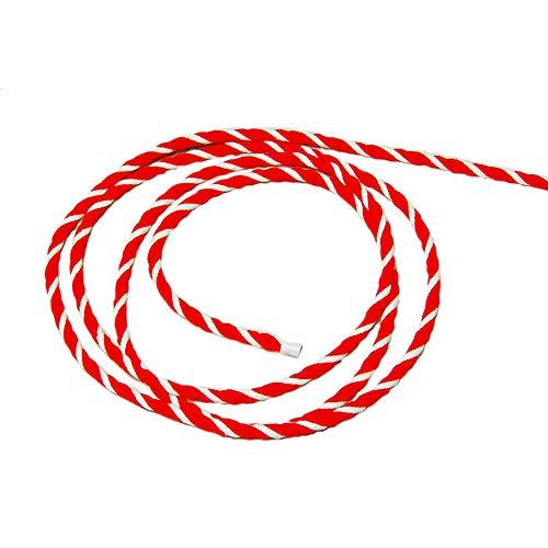 紅白ひも 太さ6mm 切売 「紅白紐・紅白ロープ」