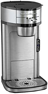 Hamilton Beach Single Serve Scoop Coffee Maker, Stainless Steel (49981) (Discontinued)