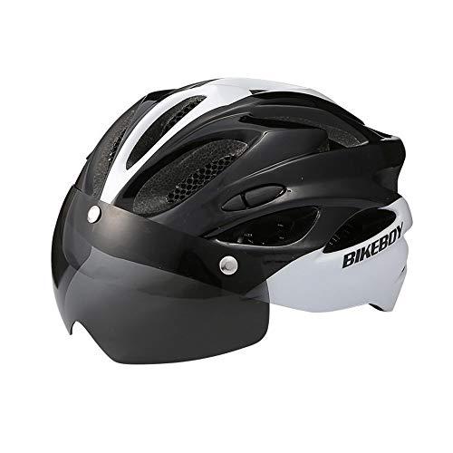 ZSR-haohai Accesorios para Bicicletas Ciclismo Casco Masculino Bicicleta de montaña Gafas un...