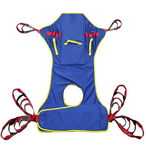 ASD321 Cinturón de Transferencia, Arnés Elevación Paciente Cuerpo Completo, Grúa de Paciente, Paciente Cinturón De Transferencia para Bariátrico, Enfermería,Anciano, Discapacitado, Postrado En Cama