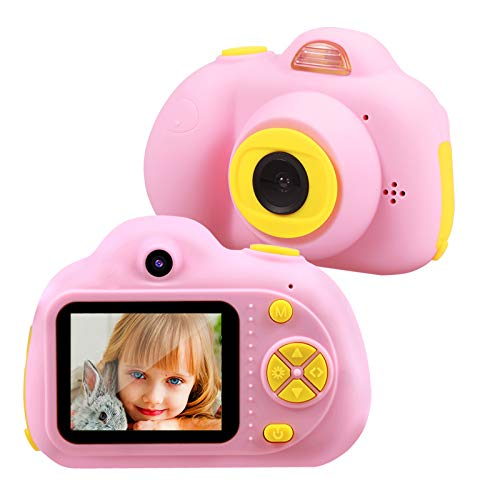 TEKHOME Birthday Gifts for 4 5 6 Year Old Girls, Kids Camera,2020 Top Toys for Girls Age 3-12,Best Gift Ideas for Christmas,Pink.