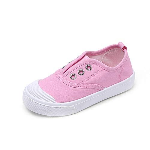 Conquro Verano Unisex Zapatillas de Running Zapatos para Correr Niños Niñas Zapatilla de Deporte de Moda Zapatillas de Deporte Casuales Zapatillas Canvas Ligero Transpirable Bajo