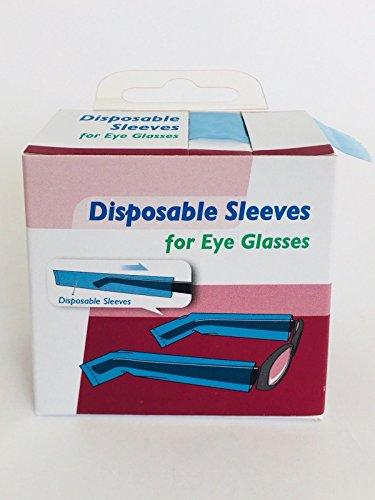 COIPRO Brillenbügelschoner 200 Stück in Spenderbox, 200 Stück