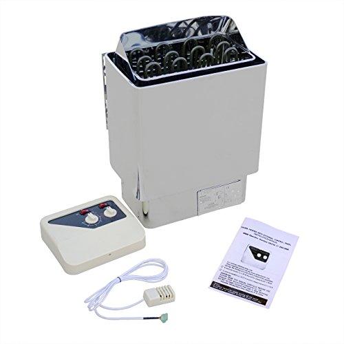 ECO-WORTHY 6 kW Calentador Eléctrico Sauna Estufa W/