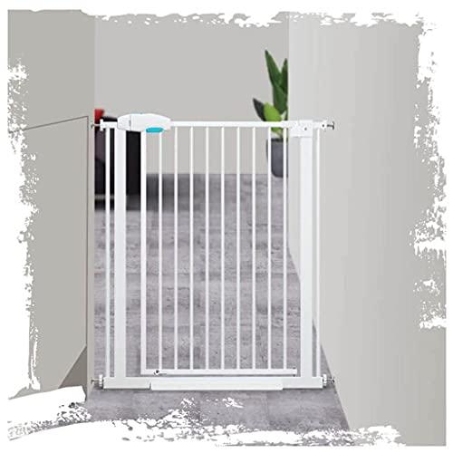 Puerta de Mascota Pet PUERD Gate Wall Wald FIJECT EXTENDEND Metal Kids Barrer Protector ABEN A Ambos Lados, Ancho DE Puertas DE BEBÉ 55-204 CM Puerta de Mascota de la Escalera (Size : 90-96cm)